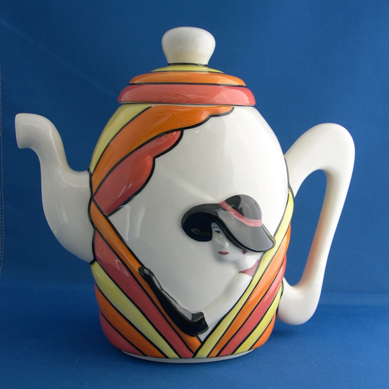 Full view of coffee pot with link to detailed image