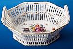 kpm berlin porcelain octagonal floral pierced sweets. Black Bedroom Furniture Sets. Home Design Ideas