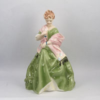 Royal Worcester Ceramic Figurine First Dance model 3629